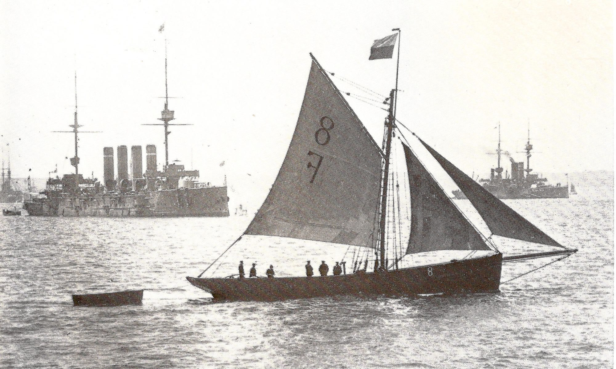 Falmouth Pilot Cutter Vincent of St Mawes